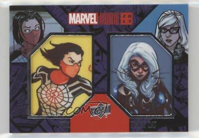 2017 Upper Deck Marvel Annual Comic Silk Black Cat #DCP-10 Dual Patch 02mb