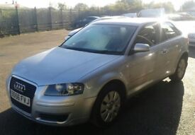 Audi A3 Special Edition TDi 1896cc Turbo Diesel Manual 5 Speed 3 Door Hatchback.