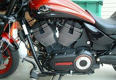 Victory motorcycle key relocation kit bracket Highball Vegas Kingpin Hammer 8 or