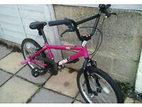 Like new condition bmx hardly used suit 7ish to adult really nice bike