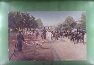 CPA France 1912 Paris Bois de Boulogne Pferde Horse Hund Dog Animals f10 - <span itemprop='availableAtOrFrom'>DABROWA, Polska</span> - CPA France 1912 Paris Bois de Boulogne Pferde Horse Hund Dog Animals f10 - DABROWA, Polska