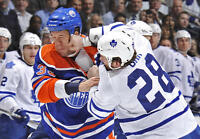 Leafs @ Oilers - Feb 11 (2 tickets) First Row Silver Club Seats