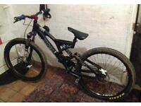 norco six one downhill bike/freeride