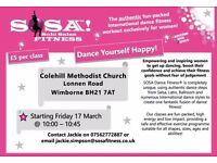 NEW SOSA DANCE FITNESS CLASS - COLEHILL WIMBORNE