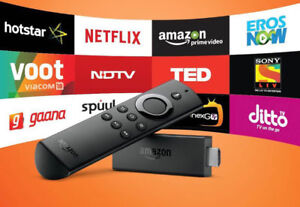 Amazon Fire TV Stick Fully Loaded 1300+ Channels + 3 Months Free