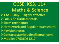 Tutor - 11+, 13+, KS3, GCSE - Maths & Science Tuitions - Harrow, Edgware, Stanmore, Queensbury, HA8
