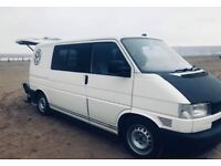 VW T4 2.5 Tdi 12 Months MOT, insulated and lined with lots of extras.