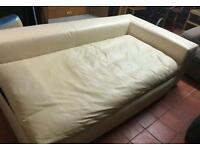 Habitat sidney right arm sofa bed