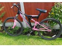 Silverfox girls mountain bike