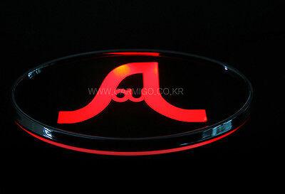 Front Hood Grill Soul Logo LED Emblem For 2008 2011 Kia Soul