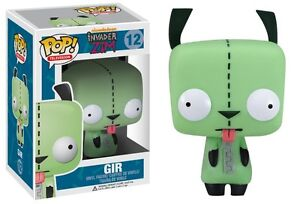 NEW-Invader-Zim-GIR-Pop-Funko-12-Television-4-Vinyl-Figure-Exclusive-Limited
