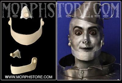 Tin Man Mask (Foam latex/Wizard Of OZ Tin Man/Face/Brows/Mask)