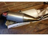 Yoshimura rs4 full exhaust system to fit suzuki rmz250/450 2014