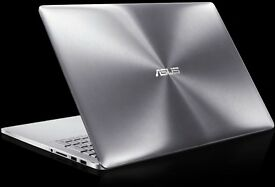 BOXED ASUS UX501JW GAMING LAPTOP 4K UHD TOUCH GTX 960M 512GB SSD QUAD CORE I7 16GB RAM