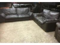 REDUCED Leather 2 and 3 seaters