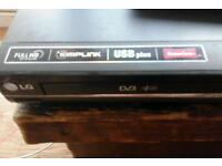 LG DVD and free view boxs