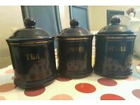 Cannisters - set of 3