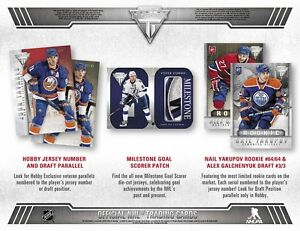 2013-14 Panini Titanium Hockey Cards Hobby Box Kitchener / Waterloo Kitchener Area image 2
