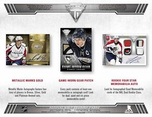 2013-14 Panini Titanium Hockey Cards Hobby Box Kitchener / Waterloo Kitchener Area image 3