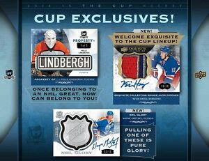 2014-15 Upper Deck The Cup Hockey Cards Tin Kitchener / Waterloo Kitchener Area image 4