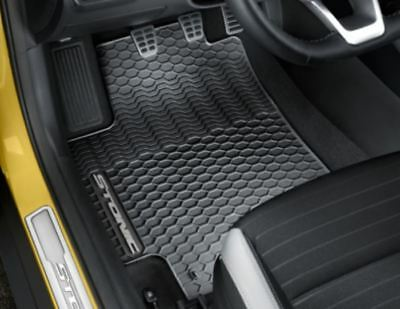 Genuine Kia Stonic 2017 Rubber  All Weather Mats RHD Only H8131ADE60GR