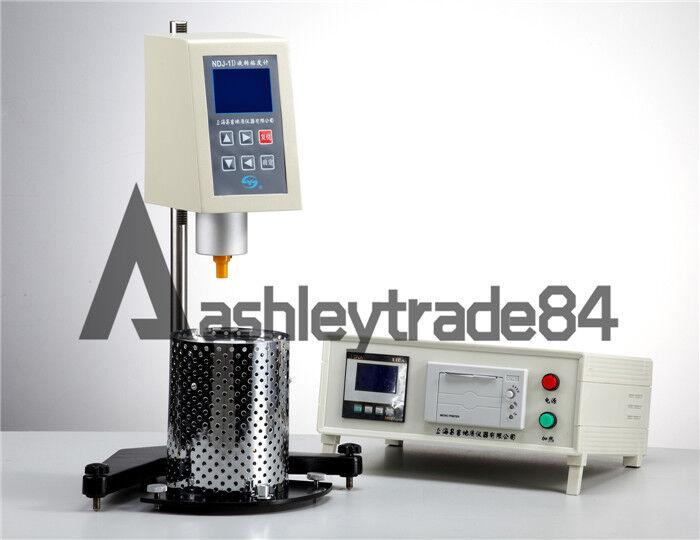 Digital Brookfield Rotational Viscometer Viscosity Meter NDJ-1D Fluidimeter New