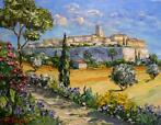Vincent Rallo (1954) - Le village de Saint Paul de Vence en