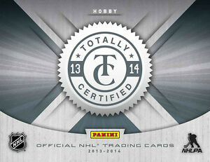 2013-14 Panini Totally Certified Hockey Hobby Box Kitchener / Waterloo Kitchener Area image 1