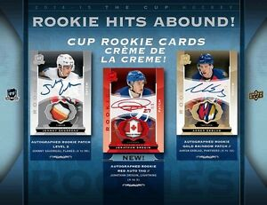 2014-15 Upper Deck The Cup Hockey Cards Tin Kitchener / Waterloo Kitchener Area image 2