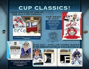2014-15 Upper Deck The Cup Hockey Cards Tin Kitchener / Waterloo Kitchener Area image 6
