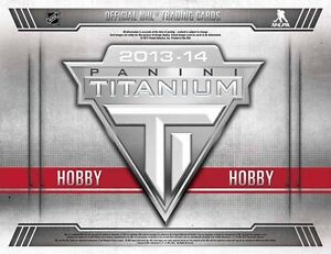 2013-14 Panini Titanium Hockey Cards Hobby Box Kitchener / Waterloo Kitchener Area image 1