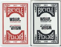 Cartes Kem - Kem Poker BICYCLE/FOURNIER WSOP 2013 TOURNAMENT SET