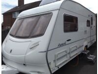 Swift Ace 4 Berth Luxury Modern Touring Caravan Abbey Sterling Group