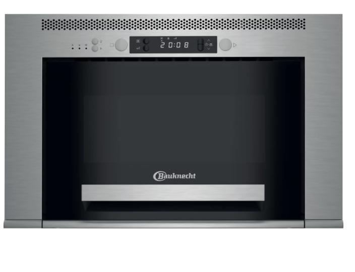 Bauknecht Einbau-Mikrowelle Dampfgarer 22L 750W Edelstahl MHCK52138PT B-Ware*