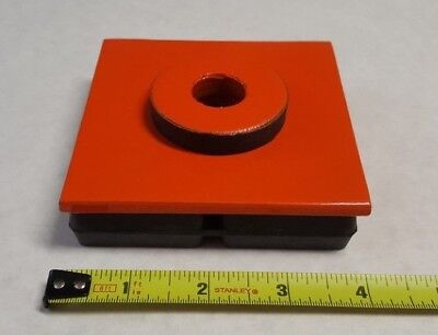 Mason 2lvp7 Vibration Isolation Pad 4 X 4 X 1 Mason Super W Pad W Hole