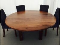 Woodstock of Ascot Solstis Round Dining Table and Chairs