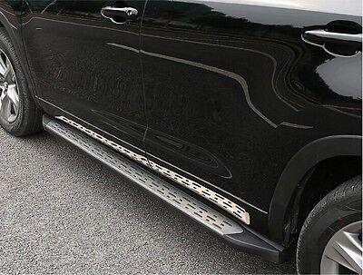 Aluminum For Toyota Highlander Kluger 2017 Side Step Running Board Nerf Bar