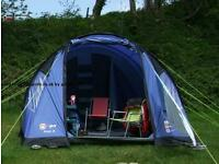Hi gear 5 tent and camping accessories.