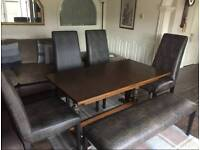 Barker and Stonehouse dining set