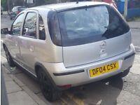 2004 1.2 VAUXHALL CORSA TAKEN IN ORT EX 5 DOOR/CHEAP TAX & INSURANCE/EASY PARKING/MOTD £430 PX?