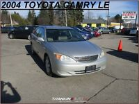 2004 Toyota Camry LE+New Brakes+Keyless Entry+Power Group+Fuel S