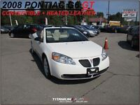 2008 Pontiac G6 CONVERTIBLE+GT+New Tires & Brakes+Heated Leather