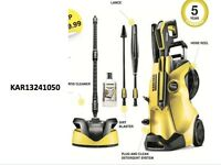 KARCHER K4 Premium Full Control Home Pressure Washer Patio Cleaner