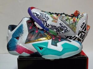 Lebron 11 premium 'what the' DS size 11.5 with receipt!