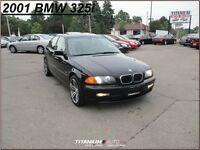 2001 BMW 325i M Wheels+Sunroof+Heated Leather Seats+HID Xenon