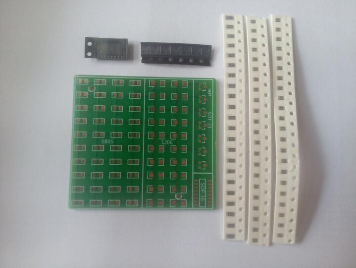 SMD Components Welding Practice Board Electronic Training Production DIY Kit