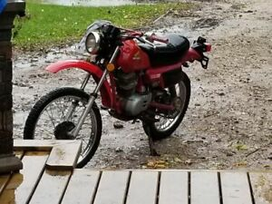 Honda Enduro 100xl 4 stroke in very good condition.
