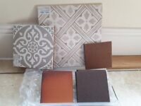 Selection of tiles bought as samples. Free to anyone who can make use of them.