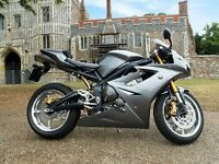 2006 TRIUMPH DAYTONA 675 GRAPHITE GREY - LOW MILEAGE 13.5K, TOR EXHAUST, SERVICED, SEAT COWL £3,649