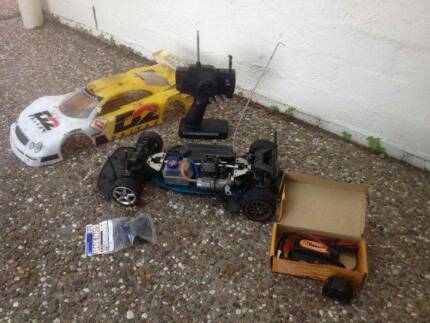 Rc car Nitro Tamiya tgx 1/8 scale
